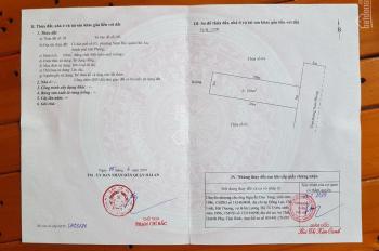 Chuyển nhượng lô đất giá rẻ mặt đường Nam Phong, Nam Hải, Hải An, Hải Phòng, cách World Bank 10m