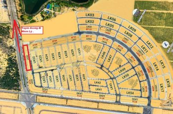 3 nền duy nhất Shophouse BT07 ngay trục đường Nhơn Lý cắt lỗ 200 triệu,sang tên trong ngày .