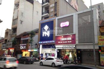 Xã Đàn: Nhà 2 mặt phố, 8 tầng, MT 9m, vỉa hè 10m, KD rất tốt, đang cho Ngân hàng thuê, giá 49.5 tỷ