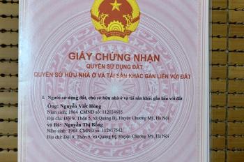 Cần tiền bán gấp đất chính chủ Kim Sơn - Sơn Tây