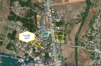 Bán đất Tịnh Phong ngay cạnh Chợ Bò cách mặt tiền Quốc Lộ chỉ 50m * Vị trí đất gần chợ thuận lợi