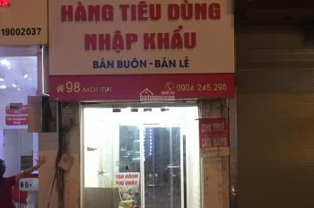 Cho thuê cửa hàng phố Bạch Mai