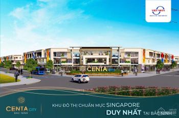 Bán rẻ căn góc đắc địa phố đi bộ kinh doanh ẩm thực sầm uất nhất khu đô thị Vsip Centa chỉ 4. X tỷ