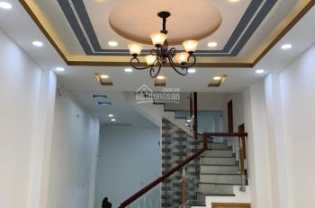 Bán nhà mới đẹp đường Tám Danh, Phường 4 Quận 8. DT 4x18m, trệt 2 lầu ST