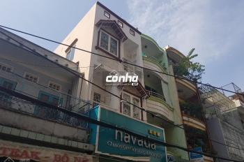 Cho thuê nhà mặt tiền đường Bà Hạt, Quận 10 4x10m, 2 lầu. Nhà ngay chợ Nguyễn Tri Phương, Có Nhà