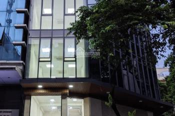 Cho thuê nhà mặt phố Nguyễn Văn Cừ: 80m2 x 6 tầng, mặt tiền 19m, nhà thông, ốp kính, LH: 0974557067