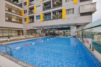 Cho thuê 2PN + 2WC giá tốt, 14 triệu/tháng tại Charmington Cao Thắng, Q10. Căn góc, 71 m2, view đẹp
