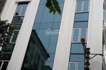 Cần cho thuê nhà MP Phạm Tuấn Tài, Cầu Giấy, làm trụ sở công ty, 195m2 * 6T, 1 hầm. LH 0968120493