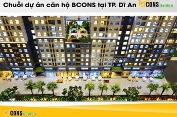 Bán căn hộ Bcons Garden trả trước 30% ký ngay HĐMB giá gốc chủ đầu tư, sở hữu lâu dài có hỗ trợ vay