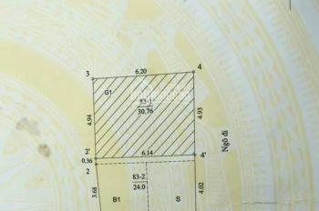 Giá nào cũng bán - đất lô góc trung tâm Ba Đình - 30m ra mặt phố - ưng là chốt