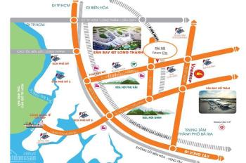 Đất nền thổ cư Phú Mỹ Future City, giá siêu rẻ chỉ 599tr/nền ngân hàng HT vay 70%