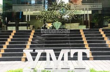 Cho thuê văn phòng tòa VMT Duy Tân. Tòa nhà đẹp, ô góc vuông vắn, liên hệ 0947 726 556