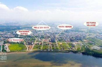 Cần bán góc biệt thự Huy Hoàng 600m2, giá 145tr/m2 đường 20m sổ đỏ