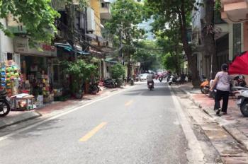 Bán nhà mặt phố Nguyễn Chính, Hoàng Mai, KD đỉnh, ô tô tránh giá 6.3 tỷ, 0989377567