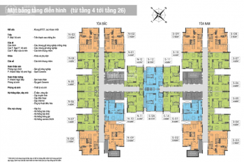 Chính chủ cần bán căn hộ 2 phòng ngủ 72m2 tòa The One khu đô thị Gamuda Gardens, Tam Trinh