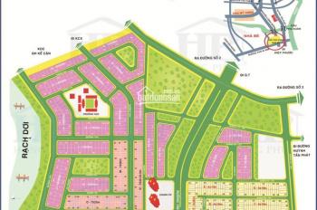 Bán gấp nền biệt thự 10x18m cách bờ sông 50m KDC Hông Lĩnh Phú Xuân Nhà Bè, giá 3.60 tỷ