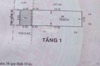Bán nhà HXH 6m Trần Thánh Tông, P15, Tân Bình. 4.5 x 16.5m (trệt, lầu) giá 5.8 tỷ