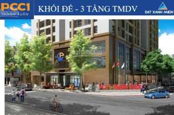 BQL cho thuê sàn thương mại và văn phòng PCC1 Triều Khúc tầng 1 làm trà chanh hoặc nhà hàng