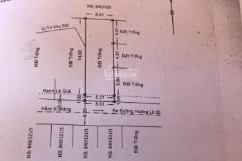 Bán 5 lô đất mặt hẻm 840 Hương Lộ 2, hẻm thông 8m