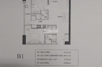 Bán gấp căn hộ phát mãi 86m2 tòa Artemis Trường Chinh, Thanh Xuân giá rẻ