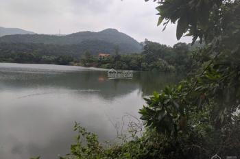 Bán lô đất đẹp ven hồ Tân Bình, Sóc Sơn làm nhà vườn, view tuyệt đẹp, S 4120m2, 2.4 tr/m2, SSB31