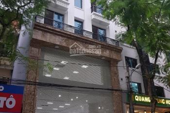 Bán nhà mặt phố Nguyễn Khang 136m2 x 8 tầng + hầm, MT 6m, thang máy, KD tốt. Giá 44 tỷ