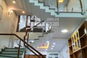 Bán nhà phố 1 trệt 1 lửng 3 lầu, 5PN, 5WC, nhà mới xây hoàn thiện tất cả, Hưng Phú, Q8, DT 4x16m