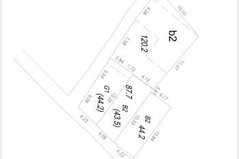 Bán đất Yên Xá 44m2 giá 58 triệu/m2, lô góc vị trí đẹp, thuận tiện đi lại, xây ở hoặc CCMN