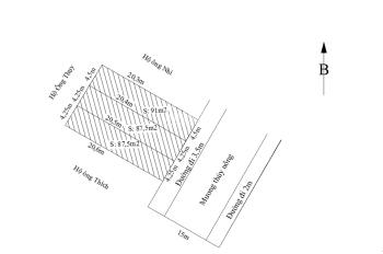 Bán 3 lô đất liền kề tại thôn Kiều Trung, xã Hồng Thái, huyện An Dương, Hải Phòng