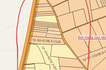 Đất Sào Đông Hòa, 1100m2, sổ hồng riêng, giá 950 triệu, cách đường nhựa 30m