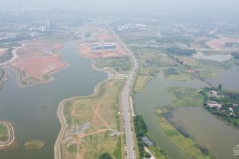 Đất mặt hồ Tân Xã 275m2 mặt tiền 10m, vị trí cực đắc địa nhìn ra vành đai công nghệ cao Hòa Lạc