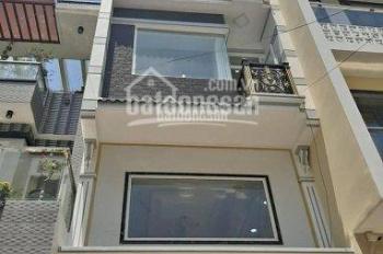 Nhà mới xây 100%, đã hoàn thiện, dọn ở ngay, 1 trệt 4 lầu, 5PN, 5WC, ngay đường Hưng Phú, P.9, Q.8