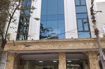 Cho thuê nhà lô góc tuyệt đẹp mặt phố Phạm Tuấn Tài, Cầu Giấy, 200m2 x 7 tầng