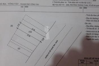 Cần bán đất mặt tiền đường Xô Viết Nghệ Tĩnh, hướng Đông Nam, P. Thắng Tam, TP. Vũng Tàu