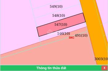 Bán đất mặt tiền DH 506, DT 10x52m, 100m2 thổ cư giá 225 tr/ngang