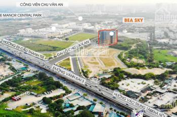 Chung cư Bea Sky đối diện The Manor Central Park, cạnh công viên Chu Văn An 100ha. Giá gốc từ CĐT