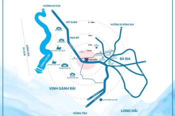 Đất nền Lic City ,trung tâm tx Phú Mỹ.100% thổ cư,5x 20,đầu tư ngay :0933369837