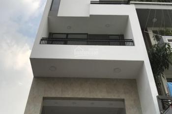 Nhà mới xây mặt tiền Bờ Bao Tân Thắng, lửng, 4 lầu, ST