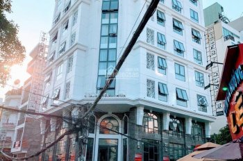 Bán building MT Lý Chính Thắng - Trương Định, P9, Q3, DT 12.9x19m, hầm, 7 lầu HĐT: 400tr/th, 145 tỷ