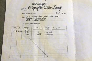 Bán gấp lô đất rộng 25m MT sâu 70m tại QL6 Lâm Sơn Lương Sơn Hòa Bình giá bán 140tr/1m mặt đường