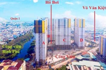 Cần bán lại căn hộ lầu 19 dự án Diamond Riverside, giá bán 1.8 tỷ không bớt, miễn trung gian