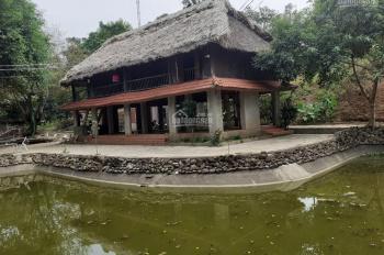 Bán gấp khuôn viên hoàn thiện đẹp tại Lương Sơn, Hòa Bình, diện tích 4.537m2