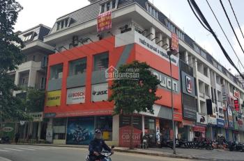 Cho thuê tầng 1 - 2 nhà 4 tầng lô góc tại ngã tư Bưởi - Lạc Long Quân, giá 36 tr/th. LH 0974585078