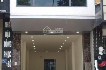 Cho thuê mặt bằng KD, văn phòng tầng 2, mặt phố Nguyễn Ngọc Vũ-Giáp Nhất, DT 50m2, giá 12,5 tr/th