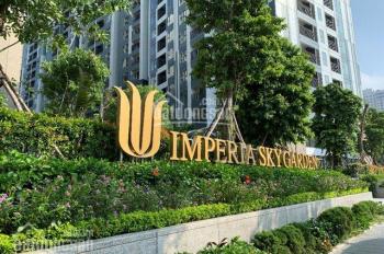 Tôi cần bán gấp căn 2 phòng ngủ CC Imperia Sky Garden 423 Minh Khai: 81m2, 2.8 tỷ có thương lượng