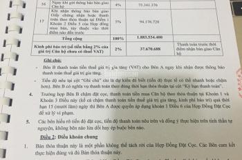 Bán rất gấp căn hộ KS dự án Melody Quy Nhơn CĐT Hưng Thịnh, TT 30%