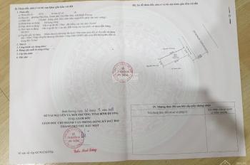 Bán 154.6m2 đất MT Nguyễn Thị Minh Khai, Phú Hòa, Thủ Dầu Một, Bình Dương, đối diện cây xăng số 6