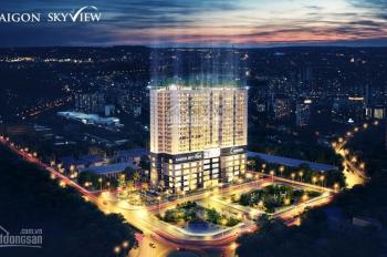 Cần ra nhanh căn 2PN dự án Sài Gòn Skyview, Quận 8 giá tốt
