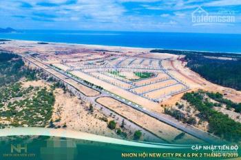 Vì đang cần tiền nên bán lỗ 1 số nền đẹp tại PK2 và PK4 Nhơn Hội New City giá cắt lỗ 100 triệu/nền