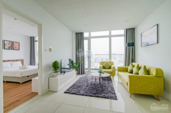Bán căn 1 phòng ngủ, 59m2, tầng 12 căn hộ The One Sài Gòn, full nội thất, view Bitexco - 0915870079